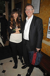 PHILIP GOULD and his daughter GRACE GOULD at the Tatler magazine Summer Party, Home House, Portman Square, London W1 on 27th June 2007.<br />