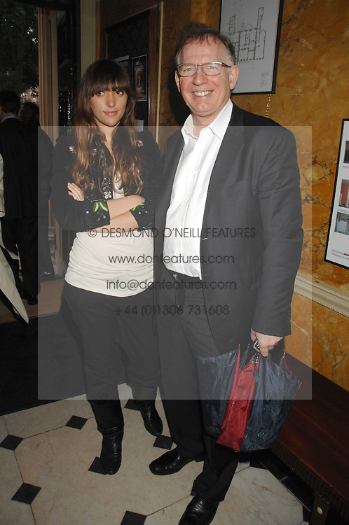 PHILIP GOULD and his daughter GRACE GOULD at the Tatler magazine Summer Party, Home House, Portman Square, London W1 on 27th June 2007.<br /> <br /> NON EXCLUSIVE - WORLD RIGHTS