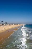 Balboa Peninsula Coastline View, Newport Beach, California