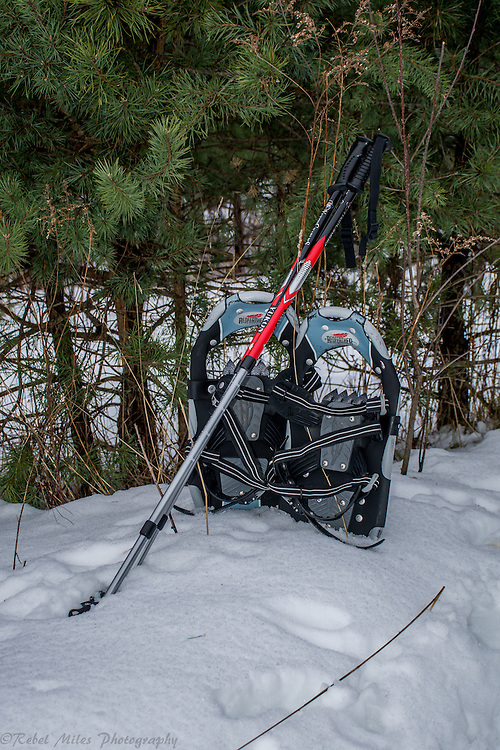 Snowshoes At The Ready