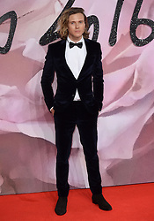Dougie Poynter attending The Fashion Awards 2016 at The Royal Albert Hall in London. <br /> <br /> Picture Credit Should Read: Doug Peters/ EMPICS Entertainment