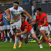 Parma, 02/20/2020 Stadio Lanfranchi<br /> Guinness PRO14 Rainbow Cup 2020/2021<br /> Zebre Rugby vs Munster<br /> <br /> Giovanni Licata