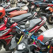 NLD/Bangkok/20180713 - Vakantie Thailand 2018, brommers