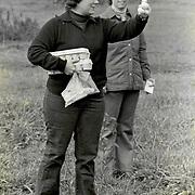 Joani Terhune and Candy Wade at the Kentucky Horse Park, Lexington, Kentucky.