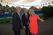 JEREMY PAXMAN; GEORDIE GREIG; RACHEL JOHNSON, Rachel Johnson book launch of Fresh Hell, Acklam Village Market, Acklam Rd. London W10.
