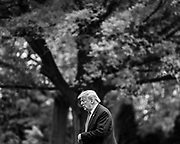 WASHINGTON, D.C. - MAY 14: President Donald Trump returns to the White House from Allentown, Pa. where he visited a distribution center for Owens & Minor, Inc. in Washington, D.C. on May 14, 2020. NYTVIRUS
