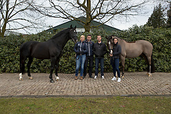 negro, Valegro, Van Olst Anne, Van Olst Gerd Jan, Hester Carl, Dujardin Charlotte<br /> Van Olst Horses - Den Hout 2017<br /> © Dirk Caremans<br /> 04/02/17