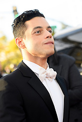 January 6, 2019 - Beverly Hills, California, United States of America - Nominee Rami Malek attends the 76th Annual Golden Globe Awards at the Beverly Hilton in Beverly Hills, California on  Sunday, January 6, 2019. HFPA/POOL/PI (Credit Image: © Prensa Internacional via ZUMA Wire)