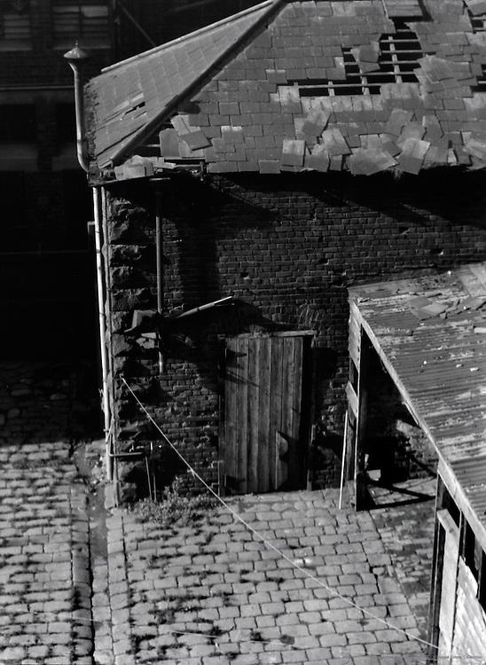 Old Courtyard, Melbourne, Australia, 1930