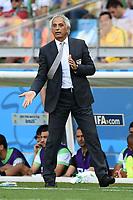 Vahid HALILHODZIC Coach Algeria <br /> Belo Horizonte (Brasile) 17-06-2014 Estadio Mineirao. Group H Belgium - Algeria / Belgio - Algeria Football 2014 Fifa World Cup Brazil - Campionato del Mondo di Calcio  Brasile 2014 <br /> Foto Insidefoto
