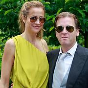 NLD/Ermelo/20070709 - Huwelijk Winston Gerstanowitz en Renate Verbaan, Michiel Mol en partner Paulien Huizinga