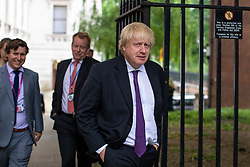 © Licensed to London News Pictures. 04/06/2018. London, UK. Foreign Secretary Boris Johnson on Downing Street. Photo credit: Rob Pinney/LNP
