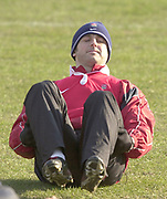 © Peter Spurrier/ Intersport, Images  020 8 876 8611<br /> email images@Intersport,.co.uk<br /> Photo Peter Spurrier<br /> 19/03/2003<br /> Sport - Rugby - Six Nations Championships:<br /> England Squard Training at Pennyhill Park<br /> Andy Gomersall