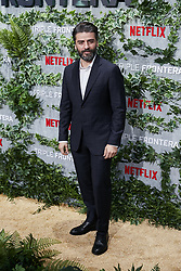 Oscar Isaac attends the Triple Frontier premiere held at Callao Cinema on March 6, 2019 in Madrid, Spain. Photo by A. Perez Meca/AlterPhotos/ABACAPRESS.COM