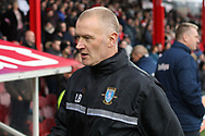 Sheffield Wednesday Caretaker Manager Lee Bullen looks on from the technical area. EFL Skybet football league championship match, Brentford v Sheffield Wednesday at Griffin Park in London on Saturday 30th December 2017.<br /> pic by Steffan Bowen, Andrew Orchard sports photography.