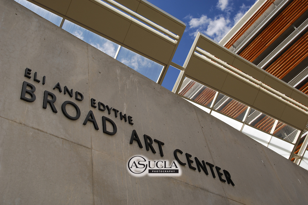ASUCLA Photography Archive-  Exterior image of Eli and Edith Broad Art Center, University of California Los Angeles, Westwood, California. This building is part of the UCLA School of Arts and Architecture.<br /> Copyright: ASUCLA