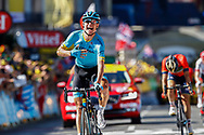 Arrival, Magnus Cort Nielsen (DEN - Astana Pro Team) winner, during the 105th Tour de France 2018, Stage 15, Millau - Carcassonne (181,5 km) on July 22th, 2018 - Photo Luca Bettini / BettiniPhoto / ProSportsImages / DPPI