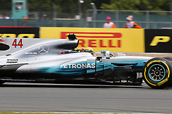 July 16, 2017 - Silverstone, Great Britain - Motorsports: FIA Formula One World Championship 2017, Grand Prix of Great Britain, .#44 Lewis Hamilton (GBR, Mercedes AMG Petronas F1 Team) (Credit Image: © Hoch Zwei via ZUMA Wire)