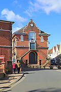 The Shire Hall, Market Hill, Woodbridge, Suffolk, England, UK built 1575 Thomas Seckford