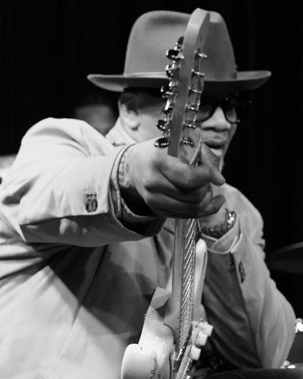 Toronzo Canon Chicago Blues Musician