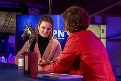 Dekker Charlotte, fokker Glamourdale<br /> KWPN Hengstenkeuring 2021<br /> © Hippo Foto - Dirk Caremans<br />  05/02/2021