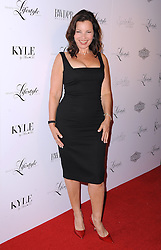 "Fran Drescher attends the ""Beverly Hills Lifestyle"" Fall 2012 Issue Launch Party at KYLE by Alene Too,  Thursday September 28, 2012. Photo By Simon Taylor / i-Images."