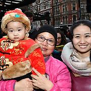 Chinese New Year 2019 parade, London, UK