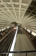 Washington, D.C. Metro Station, Metro Cars, Metro Setting
