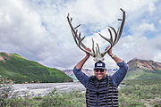 Yeah, I had to be a tourist and try on the antlers.