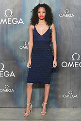 Malaika Firth attending the Lost in Space event to celebrate the 60th anniversary of the OMEGA Speedmaster held in the Turbine Hall, Tate Modern, 25 Sumner Street, Bankside, London.