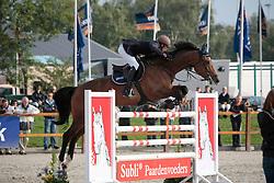 Ansems Jack (NED) - Cisco's Zidane<br /> KWPN Paardendagen Ermelo 2010<br /> © Dirk Caremans