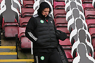 Neil Lennon (Celtic) during the Scottish Premiership match between Motherwell and Celtic at Fir Park, Motherwell, Scotland on 8 November 2020.