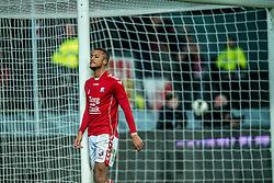 05-02-2017 NED: FC Utrecht - Heerenveen, Utrecht<br /> 21e speelronde van seizoen 2016-2017, Nieuw Galgenwaard / Richairo Zivkovic #9 mist de grootste kans uit de wedstrijd