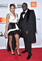 Sean Combs and Cassie Ventura attend the Clive Davis and Recording Academy Pre-GRAMMY Gala and GRAMMY Salute to Industry Icons Honoring Jay-Z on January 27, 2018 in New York City.. Photo by Lionel Hahn/ABACAPRESS.COM