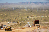 The first crusher is seen at The Golden Queen mine at Soledad Mountain. Shot July 26, 2016.  Photo by David Sprague