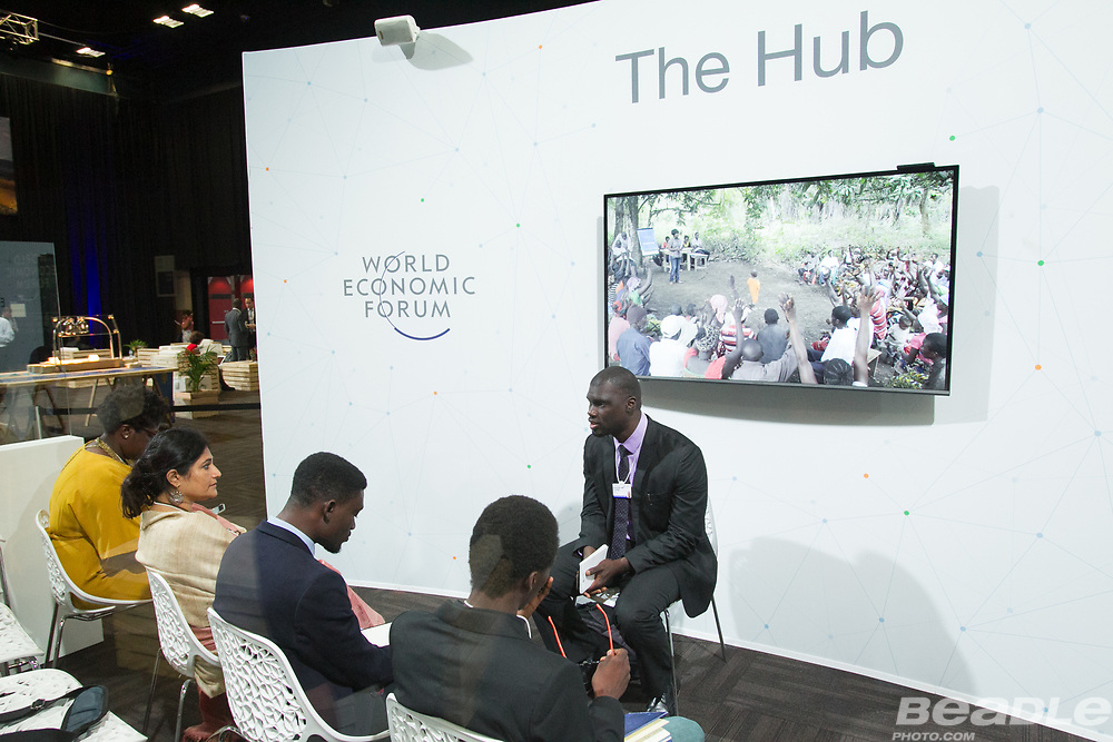 Sonkita Conteh, Co-Founder and Director, Sierra Leone<br /> Namati at the World Economic Forum on Africa 2017 in Durban, South Africa. Copyright by World Economic Forum / Greg Beadle