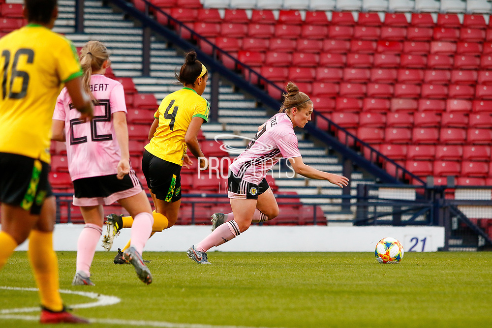 Scotlands Erin CUTHBERT (Chelsea FCW (ENG)) during the International Friendly match between Scotland Women and Jamaica Women at Hampden Park, Glasgow, United Kingdom on 28 May 2019.