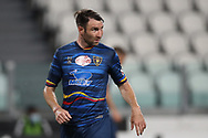 Lecce's Italian defender Fabio Lucioni during the Serie A match at Allianz Stadium, Turin. Picture date: 26th June 2020. Picture credit should read: Jonathan Moscrop/Sportimage