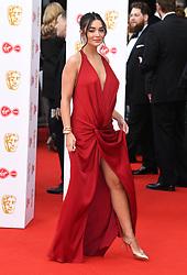 Amy Jackson attending the Virgin Media BAFTA TV awards, held at the Royal Festival Hall in London. Photo credit should read: Doug Peters/EMPICS