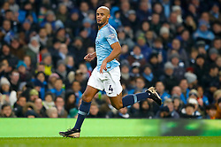 Manchester City's Vincent Kompany during the Premier League match at the Etihad Stadium, Manchester.