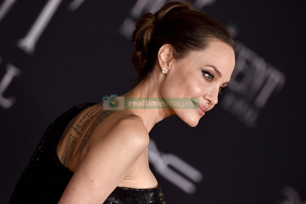 """World Premiere of Disney's """"Maleficent: Mistress of Evil"""" El Capitan Theatre, Hollywood, California. Pictured: Nina West. EVENT September 30, 2019. 30 Sep 2019 Pictured: Angelina Jolie. Photo credit: AXELLE/BAUER-GRIFFIN / MEGA TheMegaAgency.com +1 888 505 6342"""