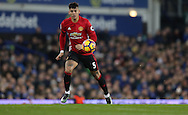 Marcos Rojo of Manchester United during the Premier League match at Goodison Park, Liverpool. Picture date: December 4th, 2016.Photo credit should read: Lynne Cameron/Sportimage