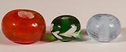 Handmade colourful glass beads