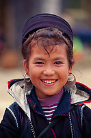 """A young H'Mong girl in Sapa, Northern Vietnam<br /> Available as Fine Art Print in the following sizes:<br /> 08""""x12""""US$   100.00<br /> 10""""x15""""US$ 150.00<br /> 12""""x18""""US$ 200.00<br /> 16""""x24""""US$ 300.00<br /> 20""""x30""""US$ 500.00"""