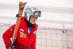 Michelle Gisin (SUI) during 2nd Run of Ladies' Giant Slalom at 57th Golden Fox event at Audi FIS Ski World Cup 2020/21, on January 17, 2021 in Podkoren, Kranjska Gora, Slovenia. Photo by Vid Ponikvar / Sportida