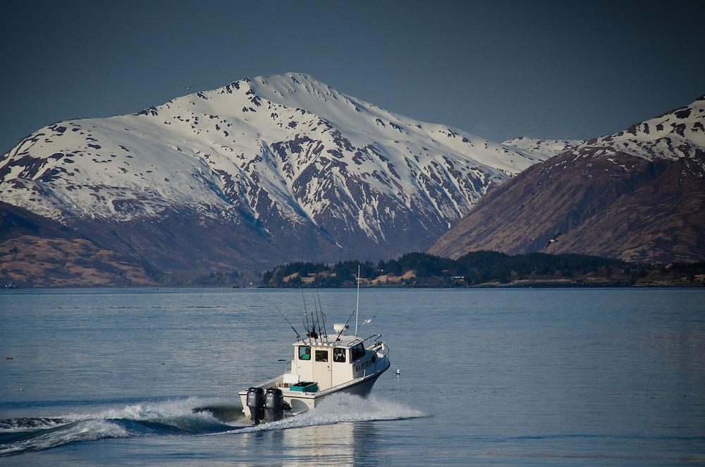 Heading out to Fish, Kodiak Island, Alaska, US