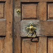 Front door, Judges' Lodgings, Lancaster, Lancashire.