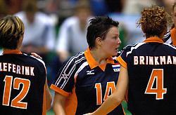 21-06-2000 JAP: OKT Volleybal 2000, Tokyo<br /> Nederland - Croatie 2-3 / Riette Fledderus