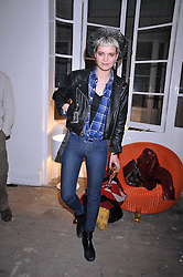 PIXIE GELDOF at a party to celebrate the opening of the PPQ Jackdaw Store at 6 Burlington Arcade, London on 8th April 2009.
