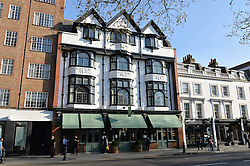 PICTURE SHOWS:-Views<br /> Tuesday 14th April 2015 saw a host of London influencers and VIP faces gather together to celebrate the launch of The Ivy Chelsea Garden. Live entertainment was provided by jazz-trio The Blind Tigers, whilst guests enjoyed Moët & Chandon Champagne, alongside a series of delicious canapés created by the restaurant's Executive Chef, Sean Burbidge.<br /> The evening showcased The Ivy Chelsea Garden to two hundred VIPs and Chelsea<br /> residents, inviting guests to preview the restaurant and gardens which marry<br /> approachable sophistication and familiar luxury with an underlying feeling of glamour and theatre. The Ivy Chelsea Garden's interiors have been designed by Martin Brudnizki Design Studio, and cleverly combine vintage with luxury, resulting in a space that is both alluring and down-to-earth.